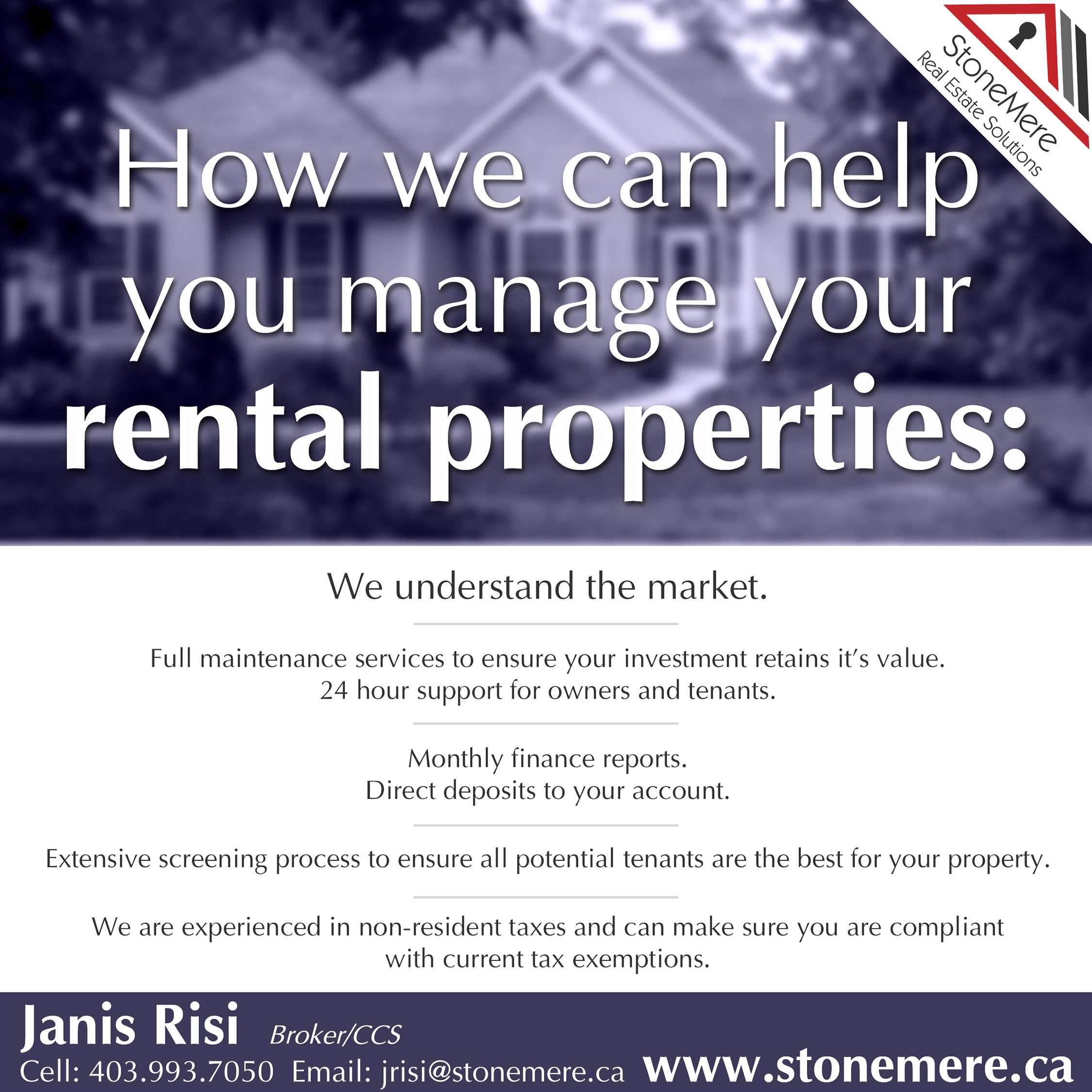 StoneMere Property Management